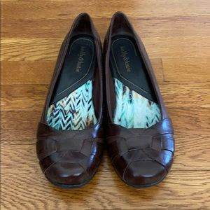 Kelly&Katie blown leather flats